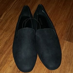 NWT. Express black loafers. Size 9.5